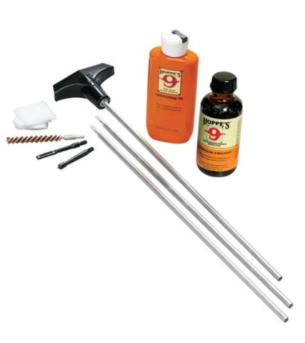 Hoppe's Gun Cleaning Kit with Aluminum Rod for .30/8mm Caliber Rifle U30B
