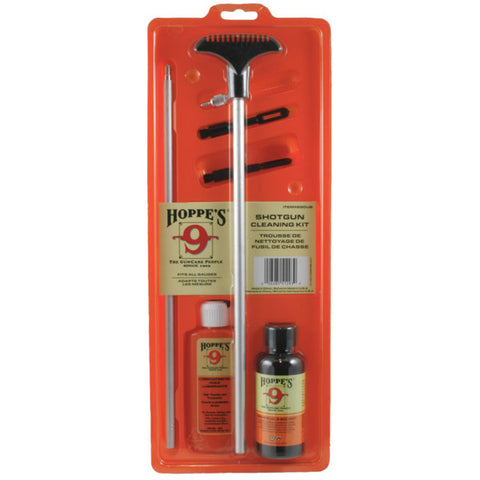 Hoppe's Shotgun Cleaning Kit with Aluminum Rod for All Gauges SGOUB