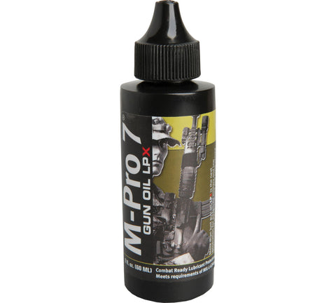Hoppe's M -Pro 7 LPX Gun Oil 4 ounce Bottle 070-1453