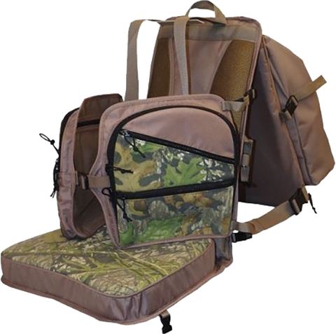 Sportsman's Outdoor Products Sportsman Beard Buster Ground N-Pound Chair Obsession Camo