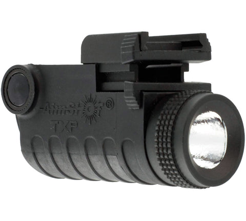 AimSHOT TXP Rail Mount Pistol LED Light Adjustable with Rechargeable Battery