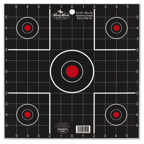 Birchwood Casey Dirty Bird 12 Inch Split Shot Target 100 Pack