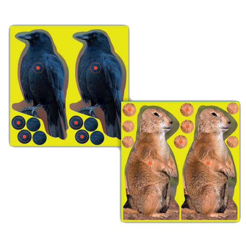 "Birchwood Casey Shoot-N-C 8"" Crow Target 12 Pack"