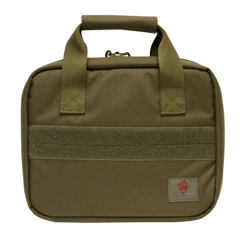 Tactical Pistol Case with Pistol Wheel - OD Green