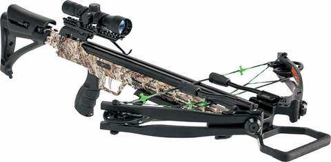 Eastman Outdoors Inc 18 Piledriver 390 Crossbow Package w/Crank