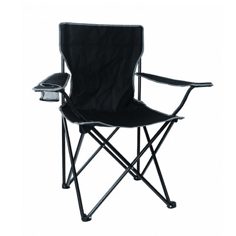 Texsport Leisure Arm Chair - Black 15148