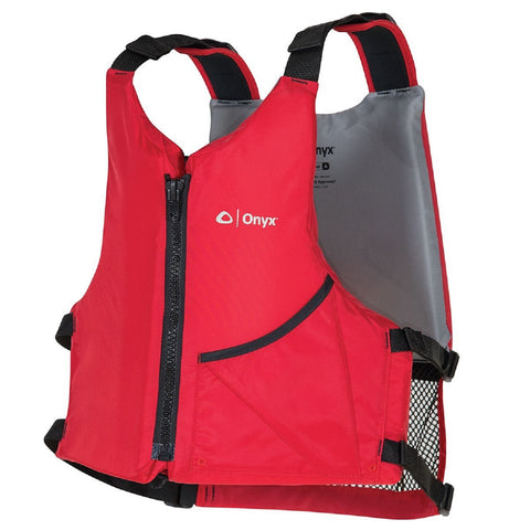 Onyx Outdoor Paddle Oversize Vest Adult - Red 121900-100-004-17