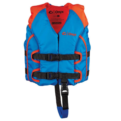 Onyx Outdoor All Adventure Child Vest - Orange/Blue 121000-200-001-15
