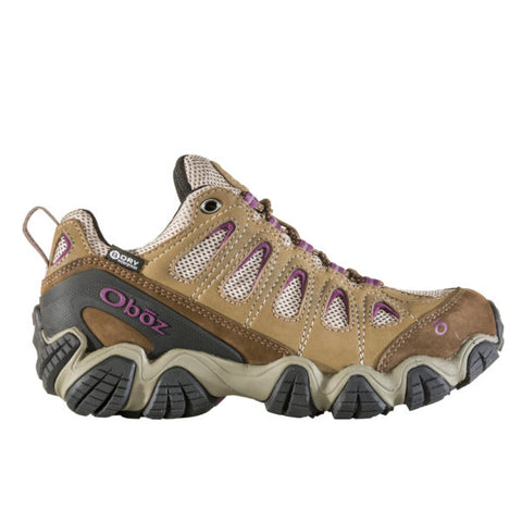Oboz Sawtooth II Low B-Dry Women's Hiking Shoes Violet