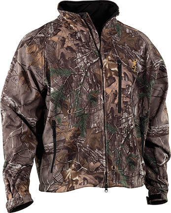 Browning Browning Wasatch Soft Shell Jacket Breakup Country Large