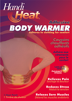 Heat Factory Usa Inc Heat Factory Adhesive Body Warmer