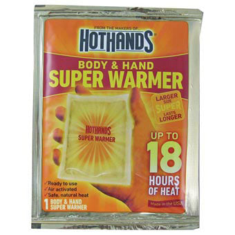 Hot Hands Hothands Body/Hand Superwarmer