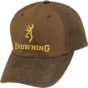 Browning Browning Dura Wax Cap Brown
