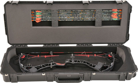 "Skb Cases I Series Medium Bow Case Black W/Pre-Cut Foam 40"" 3I4214Pl"