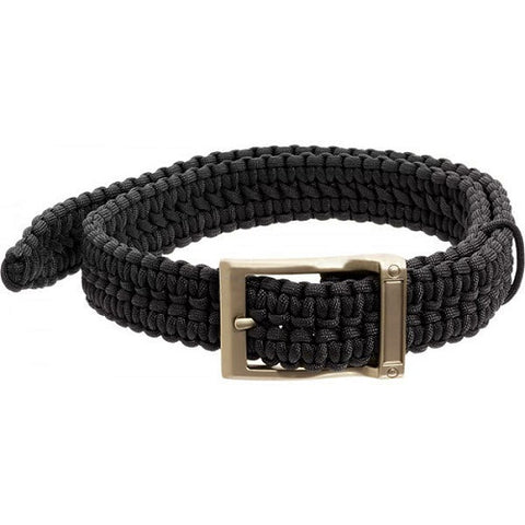 Timberline Black Paracord Survival Belt-Large