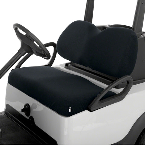 Classic Accessories Terry Cloth Golf Cart Seat Saver Black