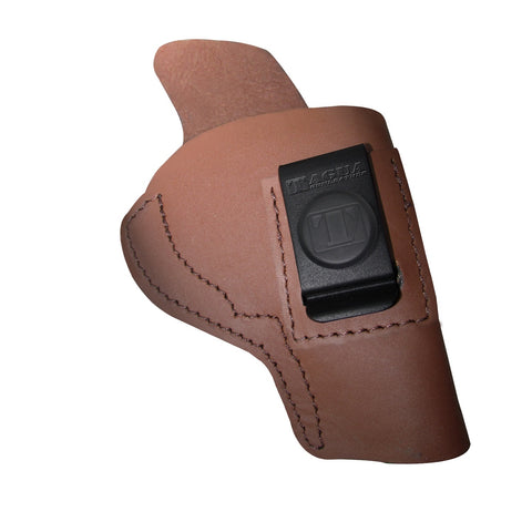 Tagua Ruger 380 with Laser Brown / Right Hand Holster SOFTY-007
