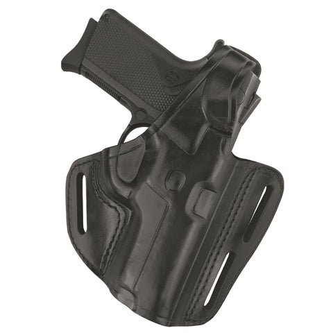 Gould & Goodrich Black Three Slot Pancake Holster for SIG Left Hand