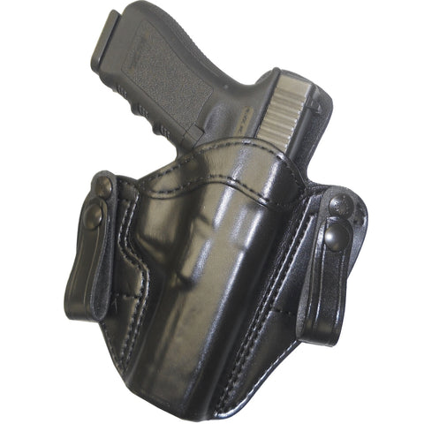 Gould & Goodrich Black Inside/Outside Pants Holster Fits Beretta LH