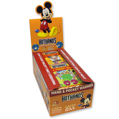 Disney 12 Hour Non-Toxic Hand Warmers - Box of 40