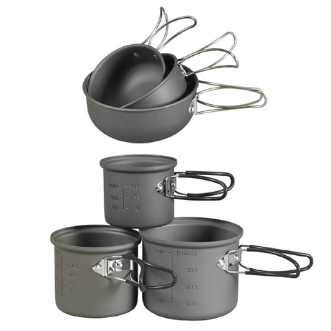 NDuR - 6 Piece Essentials Cookware Mess Kit