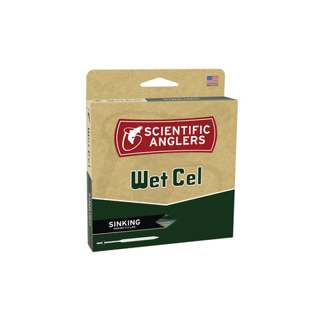 Scientific Anglers WetCel Sinking Fly Line-WF-5-S-Black-Sink 6