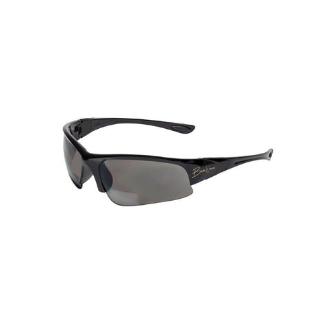 BluWater Babe 1 Black Frame with Gray Polarized Bifocal 1.5 Lens