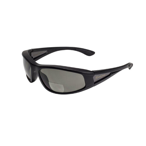 BluWater Babe 2 Black Frame with Gray Polarized Bifocal 2.0 Lens