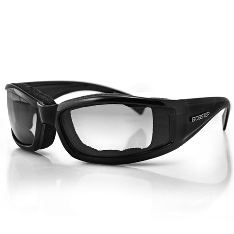 Bobster Invader Sunglass-Black Frame-Photochromic Lens BINV101