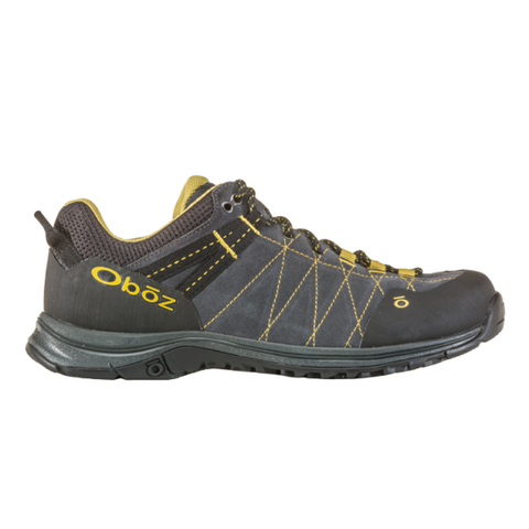 Oboz Hyalite Low Approach Style Men's Hiking Shoes Dark Shadow/Lichen