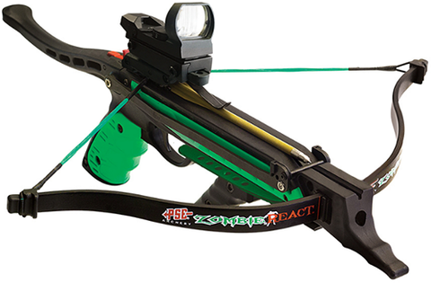 Precision Shooting Equip PSE Zombie React Pistol Crossbow Package