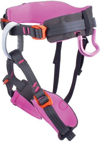 Edelweiss Sword Kids Rock Climbing Harness Pink