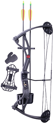 "Crosman Corporation Wildhorn Compound Bow Right Hand 29# 17""-26"""