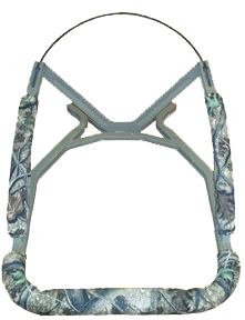"Cottonwood Outdoors Corp Weathershield Railpads 28"" Clear Cut Camo"