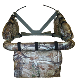 Cottonwood Outdoors Corp Weathershield Front Accessory Bag Clear Cut Camo