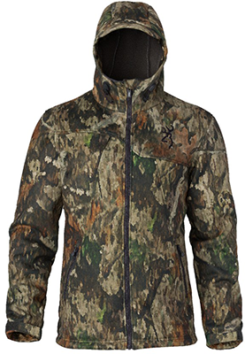 Browning Hells Canyon Speed Hellfire-FM Ins Gore Jacket A-Tacs Camo L