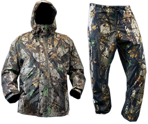 Rivers West Apparel Weather Beater Suit Pack Combo Widow Maker Camo Large