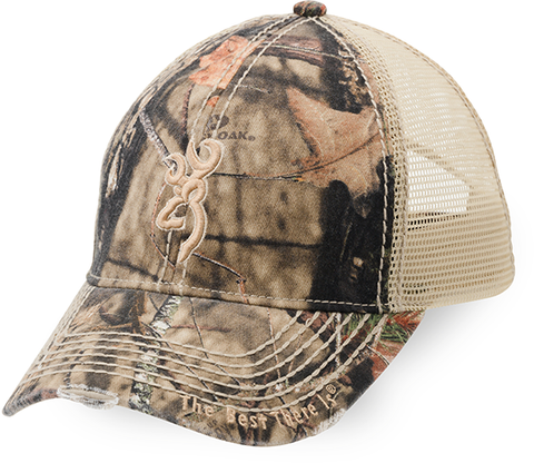 Browning Browning Bozeman Brown Cap w/Mossy Oak Breakup Country