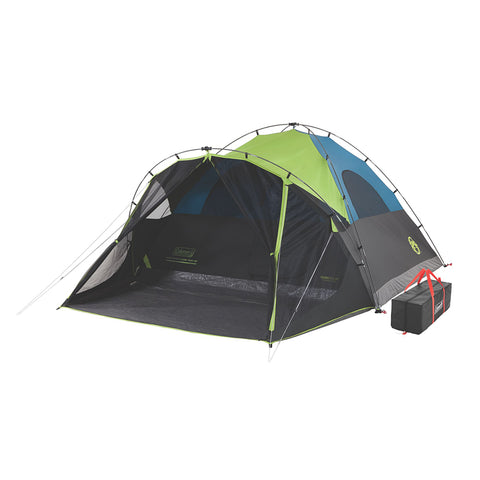 Coleman Carlsbad 6-Person Darkroom Tent w/Screen Room