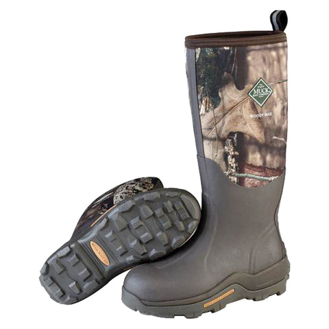 Muck Woody Max Hunting Boots Mossy Oak Country