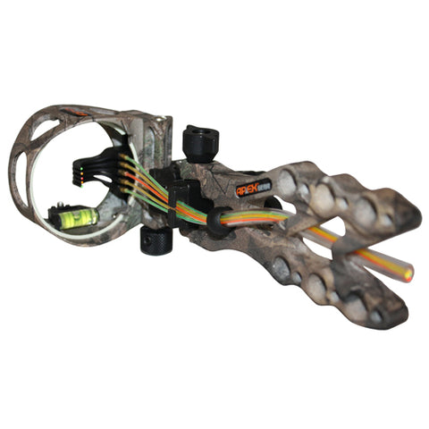 Apex Gamechanger Bow Sight 5-Pin .019 Xtra AG2605J