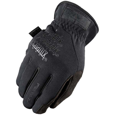 Mechanix TAA Fastfit Glove Easy On/Off Elastic Cuff Black Medium