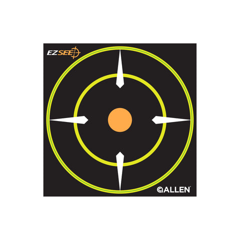 Allen Sight-In Targets 6 Inch Ez See Adhesive 12 Pack 15226