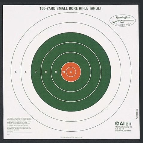 Allen Sight-In Targets Bullseye Style 100 Yard 12 Pack 1523