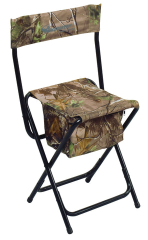 Ameristep Folding Chair High-Back Rt Xtra-Green Camo