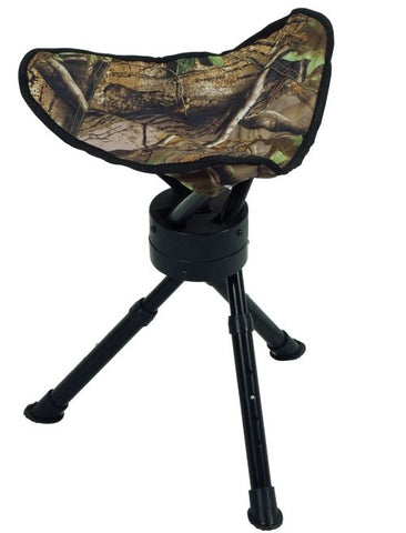Ameristep Folding Stool Tripod Swivel W/Carrying Strap