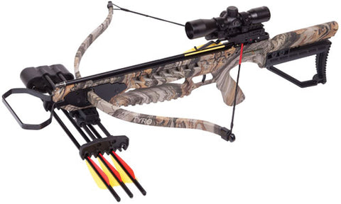 Centerpoint Crossbow Kit Tyro Recurve 245Fps Camo Axrt175Ck4X