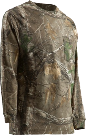 Berne Workwear Berne Longshot Long Sleeve T-Shirt Realtree Xtra Camo XL