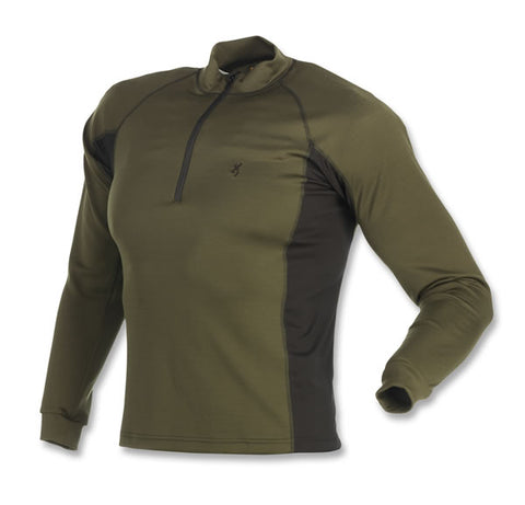 Browning Base Layer Top Full Curl Wool Base Layer 1/4 Z-Top