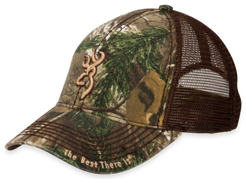 Browning Cap Brown/Realtree Xtra 3D Buckmark 308367241
